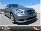 2013 Palladium Silver Metallic Mercedes-Benz S 550 Sedan #80672074