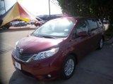 2012 Salsa Red Pearl Toyota Sienna XLE #80672057