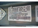 2010 CR-V Color Code for Opal Sage Metallic - Color Code: G532M