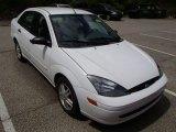 2004 Cloud 9 White Ford Focus SE Sedan #80677961