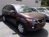 2011 Dark Cherry Kia Sorento LX AWD #80677960