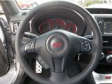 2012 Subaru Impreza WRX STi Limited 4 Door Steering Wheel