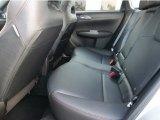 2012 Subaru Impreza WRX STi Limited 4 Door Rear Seat