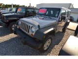 2013 Billet Silver Metallic Jeep Wrangler Unlimited Sport 4x4 #80677499