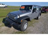 2013 Billet Silver Metallic Jeep Wrangler Unlimited Sport 4x4 #80677498