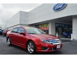 2010 Red Candy Metallic Ford Fusion Sport #80677472