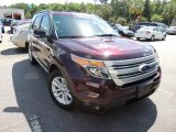 2011 Bordeaux Reserve Red Metallic Ford Explorer XLT #80677680