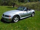 1996 BMW Z3 Arctic Silver Metallic