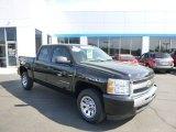 2009 Black Chevrolet Silverado 1500 LS Crew Cab #80677570