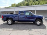 2013 Blue Ray Metallic Chevrolet Silverado 1500 LT Extended Cab 4x4 #80677455