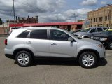 2014 Bright Silver Kia Sorento EX V6 AWD #80677451