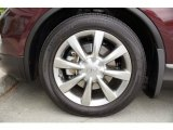 Infiniti EX 2012 Wheels and Tires