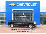 2013 Black Chevrolet Silverado 1500 LT Crew Cab 4x4 #80677754