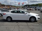 2013 Snow White Pearl Kia Optima LX #80677445