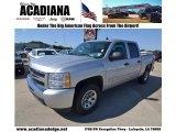 2011 Sheer Silver Metallic Chevrolet Silverado 1500 LS Crew Cab 4x4 #80677552