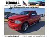 2012 Flame Red Dodge Ram 1500 ST Quad Cab #80677545