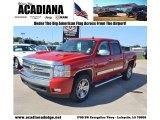 2007 Victory Red Chevrolet Silverado 1500 LT Crew Cab #80677543