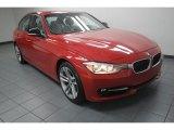 2012 Melbourne Red Metallic BMW 3 Series 328i Sedan #80677745