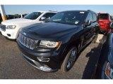 2014 Brilliant Black Crystal Pearl Jeep Grand Cherokee Summit #80677540