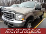 2002 Arizona Beige Metallic Ford F250 Super Duty XLT SuperCab 4x4 #80677820