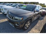 2014 Granite Crystal Metallic Jeep Grand Cherokee Overland #80677539