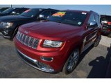 2014 Deep Cherry Red Crystal Pearl Jeep Grand Cherokee Summit #80677536