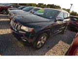 2014 True Blue Pearl Jeep Grand Cherokee Overland 4x4 #80677535