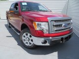 2013 Ruby Red Metallic Ford F150 XLT SuperCrew #80677653