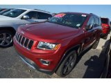 2014 Deep Cherry Red Crystal Pearl Jeep Grand Cherokee Limited #80677528