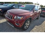 2014 Deep Cherry Red Crystal Pearl Jeep Grand Cherokee Limited #80677527