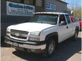 2003 Summit White Chevrolet Silverado 1500 LS Extended Cab 4x4 #80677643