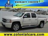 2011 White Diamond Tricoat Chevrolet Silverado 1500 LTZ Crew Cab 4x4 #80723603