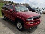 2004 Sport Red Metallic Chevrolet Tahoe Z71 4x4 #80723134