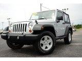 2011 Bright Silver Metallic Jeep Wrangler Sport S 4x4 #80723367