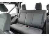 2011 Jeep Wrangler Sport S 4x4 Rear Seat