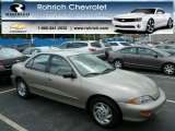 1999 Medium Sunset Gold Metallic Chevrolet Cavalier LS Sedan #80723590