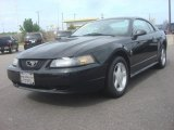 2002 Black Ford Mustang V6 Coupe #80723703