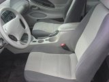 2002 Ford Mustang V6 Coupe Medium Graphite Interior