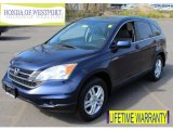 2010 Royal Blue Pearl Honda CR-V EX-L AWD #80723013