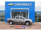 2013 Graystone Metallic Chevrolet Silverado 1500 LT Crew Cab 4x4 #80723346