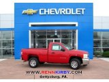 2013 Victory Red Chevrolet Silverado 1500 Work Truck Regular Cab #80723345