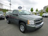 2011 Taupe Gray Metallic Chevrolet Silverado 1500 LS Regular Cab 4x4 #80723098