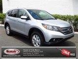 2013 Alabaster Silver Metallic Honda CR-V EX #80722887