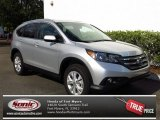 2013 Alabaster Silver Metallic Honda CR-V EX-L AWD #80722885