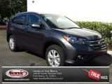 2013 Polished Metal Metallic Honda CR-V EX-L AWD #80722884