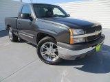 2004 Dark Gray Metallic Chevrolet Silverado 1500 Regular Cab #80723199