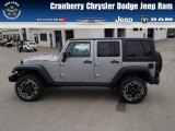 2013 Billet Silver Metallic Jeep Wrangler Unlimited Rubicon 10th Anniversary Edition 4x4 #80723079