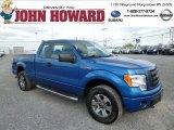 2012 Blue Flame Metallic Ford F150 STX SuperCab 4x4 #80723447