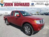 2013 Lava Red Nissan Frontier Pro-4X Crew Cab 4x4 #80723445