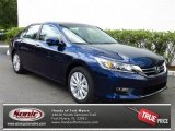 2013 Obsidian Blue Pearl Honda Accord EX Sedan #80722863